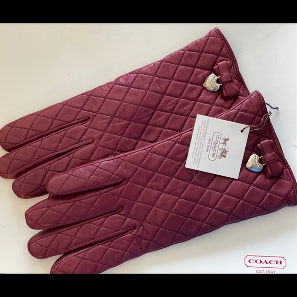 COACH Gloves - Brand New with Tags!